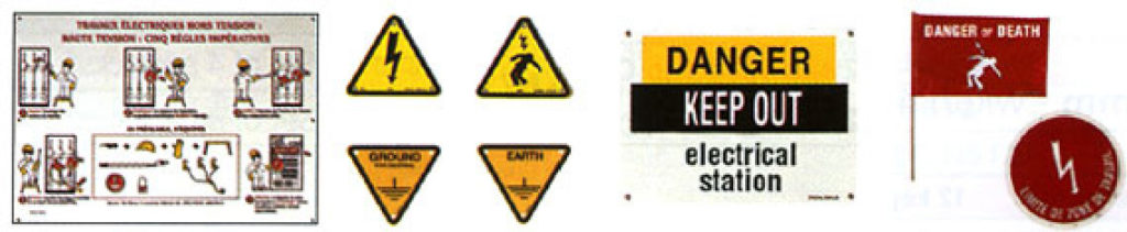 Substation Warning Signs