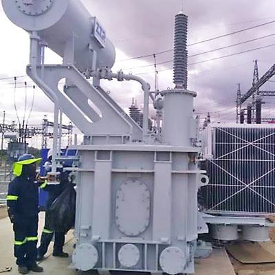 Transformer installation at Eskom Ovaal